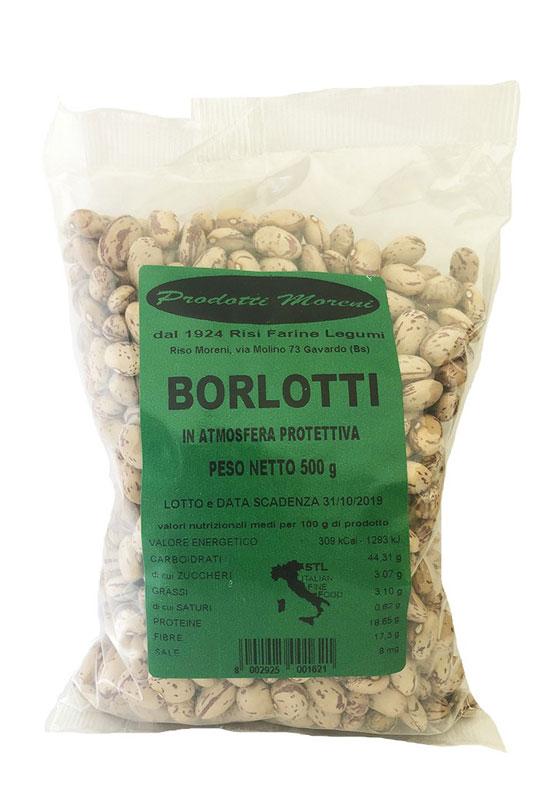 Riso Moreni - Fagioli Borlotti