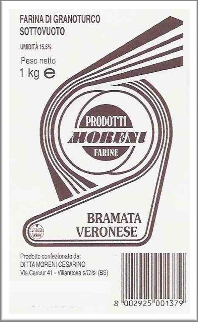 Riso Moreni - Farina Bramata Veronese
