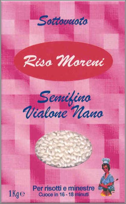 Riso Moreni - Riso Semifino Vialone Nano