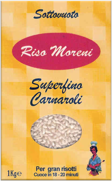 Riso Moreni - Riso Superfino Carnaroli