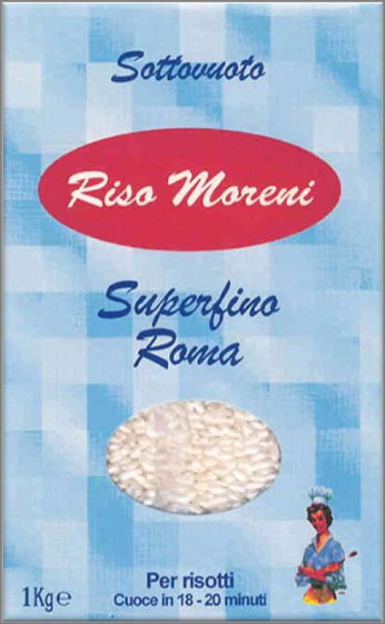 Riso Moreni - Riso Superfino Roma